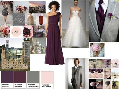 Delisa Grey gray blush and eggplant wedding search mallory