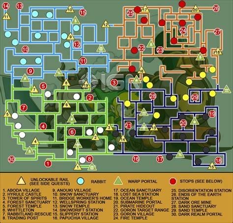 legend of zelda map nes walkthrough the legend of zelda spirit tracks ds walkthrough and