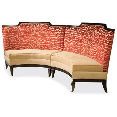 Cheap Banquette by Swaim F261 Banquette Collection Dining Banquette Discount