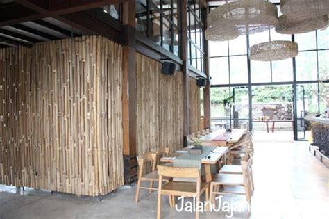 desain cafe bambu dusun bambu bandung jalan jajan hemat