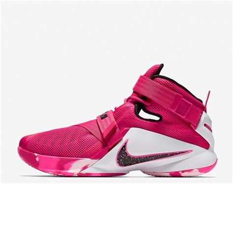 Sepatu Sport Nike 5 0 Pink jual sepatu basket nike lebron soldier 9 think pink