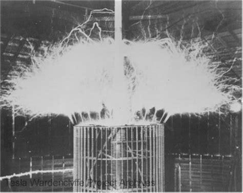 Tesla Magnifying Transmitter Nikola Tesla Magnifying Transmitter Photographs