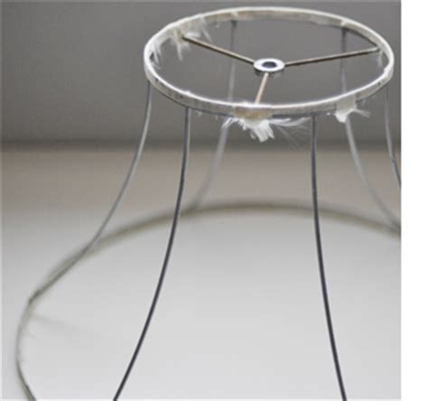 How To Make A Wire Frame For Paper Mache - craft make a chandelier with wax paper
