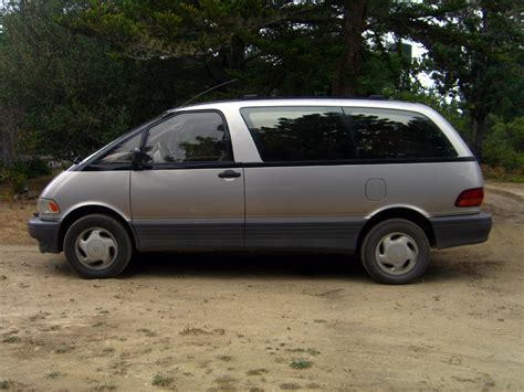 Toyota Previa 1996 1996 Toyota Previa Information And Photos Zombiedrive