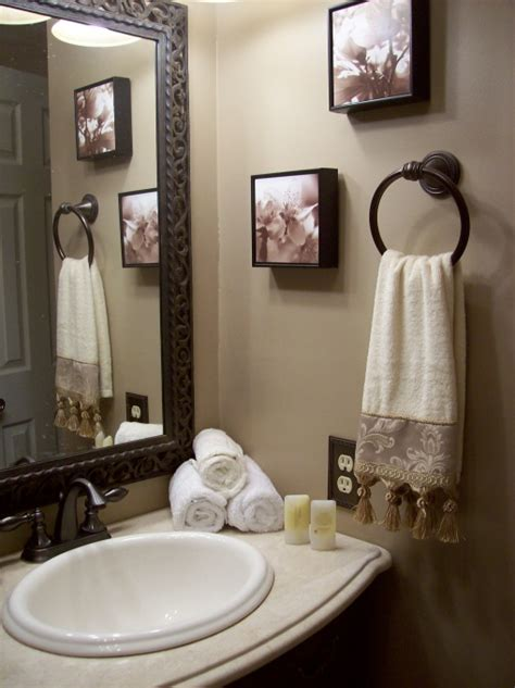 ideas for bathroom decorating neutral guest bathroom bathroom designs decorating
