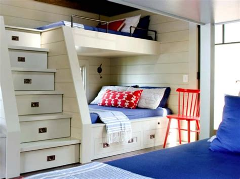 Bunk Beds For Small Rooms Photograph Of 9 Built In Bunk Bed Plans Best House And Living Room Decoration Ideas