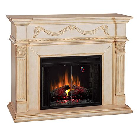 wide electric fireplace classic gossamer collection 55 wide electric