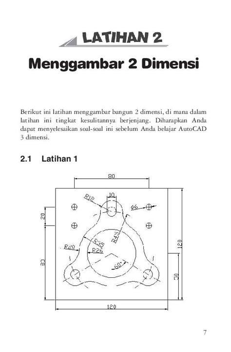 tutorial menggambar autocad 3 dimensi jual buku cara mudah menggambar 2 dimensi dan 3 dimensi