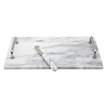 cucina marble godinger la cucina marble cheese board with marble handle