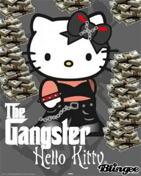 hello kitty gangster wallpaper gangster gif find share on giphy