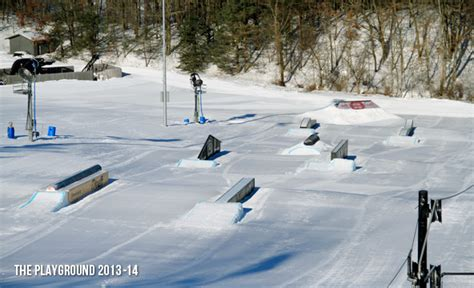 backyard ski park reviewed cannonsburg terrain parks 187 agnarchy com