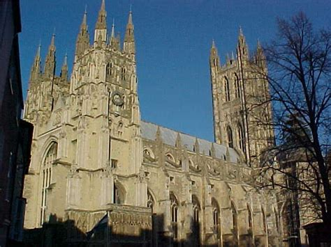 Cing Treille by The Front Of Canterbury Cathedral