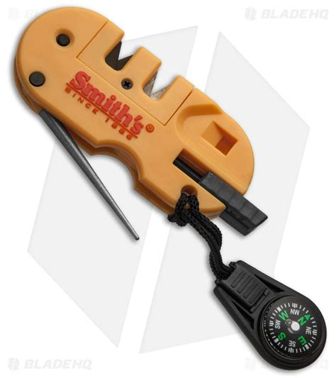 how to use a smith s knife sharpener smith s pocket pal x2 sharpener survival tool w led light 50364 blade hq