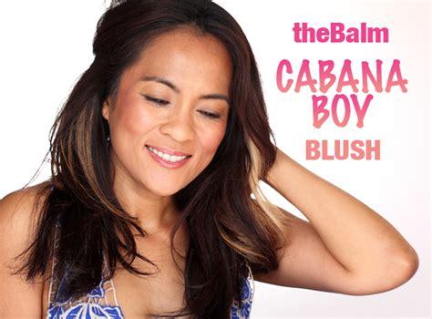 The Balm Boys Cabana Boy forget milkshakes thebalm s cabana boy blush brings all