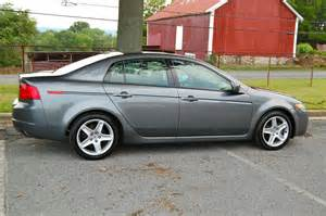 md 2005 acura tl grey black int auto only 55k honda tech