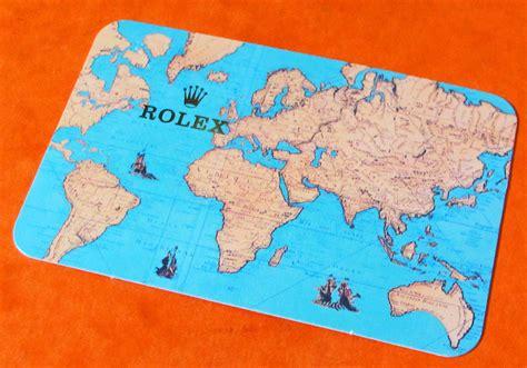 Calendrier De 1995 Rolex Calendrier Carte 1995 1996 Chrono Shop