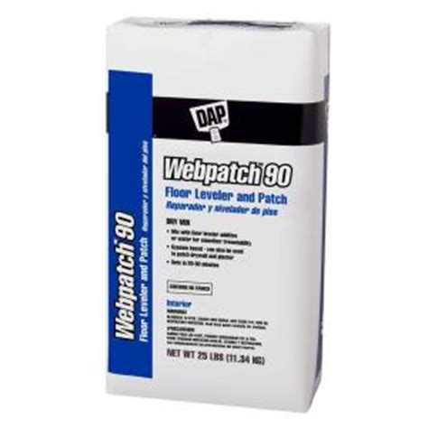 dap 25 lb webpatch 90 floor leveler 63050 the home depot