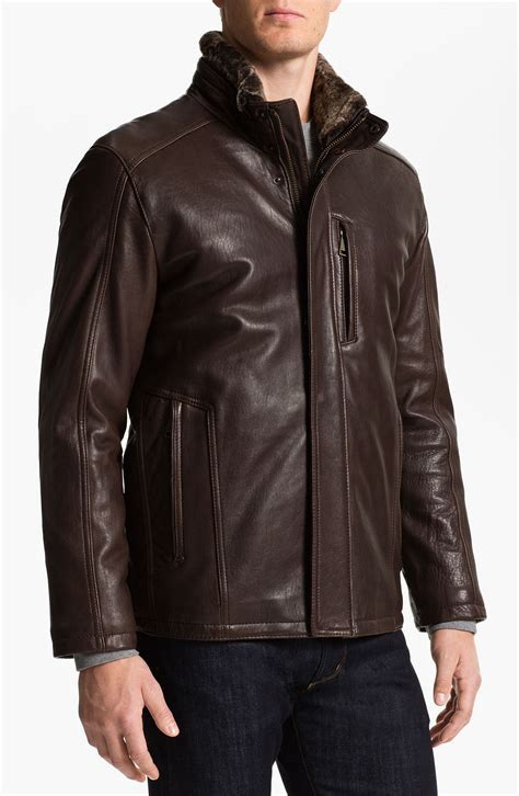 New York Jacket Mc539x marc new york by andrew marc noah leather jacket with