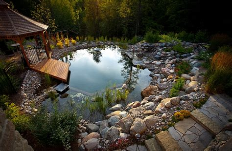 Natural Pool by Natural Swimming Pools Design Ideas Inspirations Photos