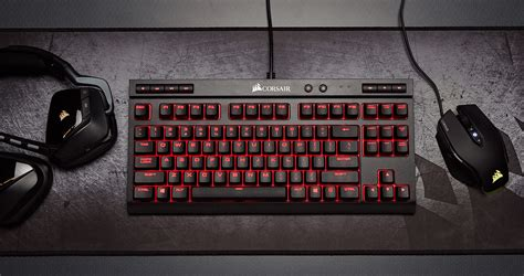 Keyboard Gaming Corsair K63 corsair unveils compact k63 mechanical keyboard