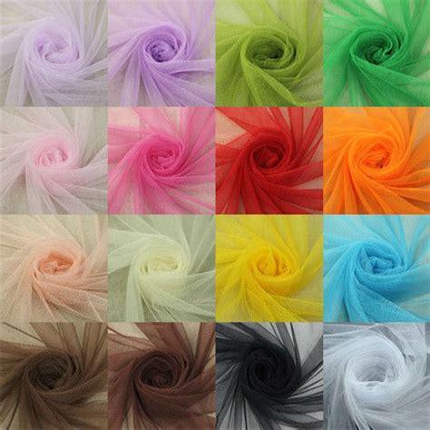 Decoration Net Material by Aliexpress Buy 1 6 3m Unit 16corlors Soft Net Mesh