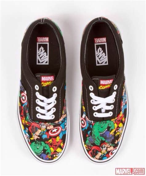 marvel shoes marvel vans i really want these but can i justify