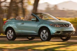Convertible Nissan Suv Used 2014 Nissan Murano Crosscabriolet Suv Pricing