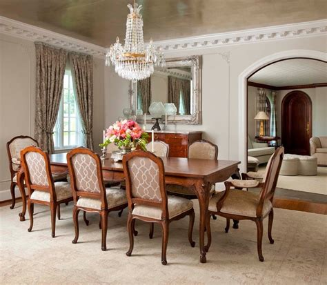 florentine dining room traditional dining room dallas  gibson gimpel interior design