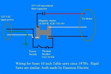table saw switch wiring diagram 31 wiring diagram images