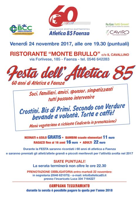 in bcc faenza news atletica85