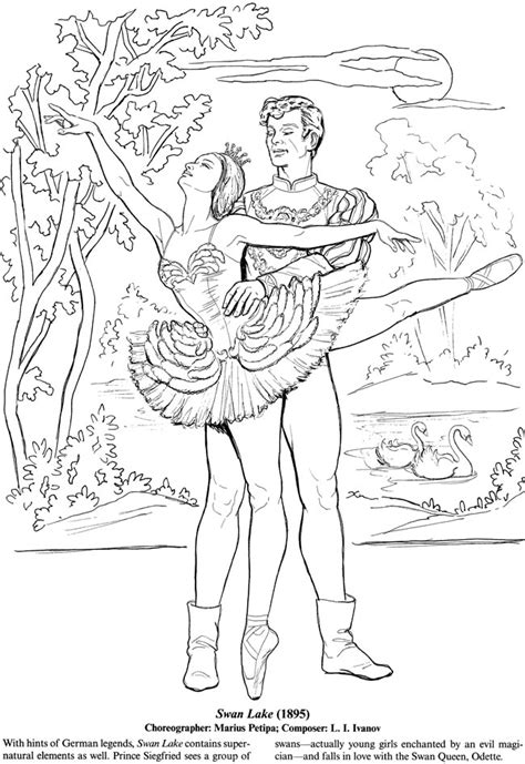 beautiful ballerina coloring pages welcome to dover publications