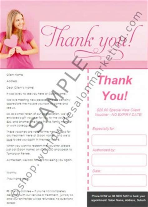 Thank You Letter For Cosmetology Thank You Quotes For Clients In Salon Quotesgram
