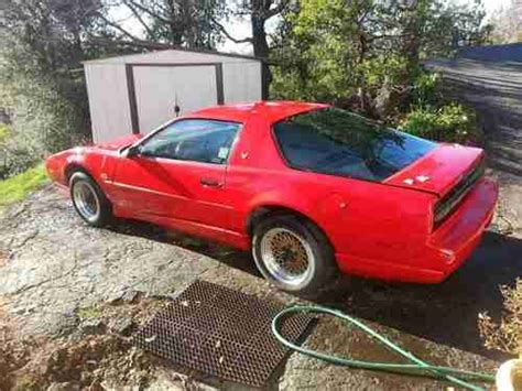 how do cars engines work 1991 pontiac firebird free book repair manuals purchase used 1991 pontiac firebird trans am gta coupe 2 door 5 7l tpi engine very rare car in