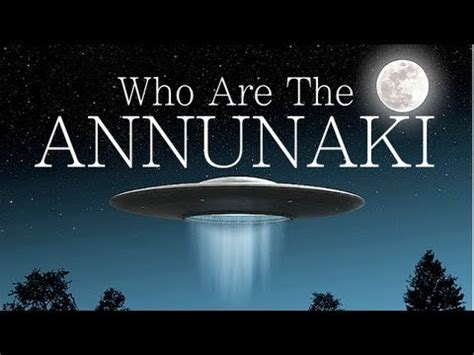 Who Are The Annunaki Who Are They