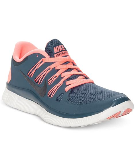 macys athletic shoes nike s shoes free 5 0 running sneakers nike