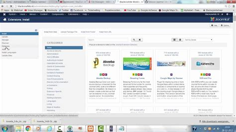 manual joomla upgrade how to manually upgrade to joomla 3 4 8 youtube