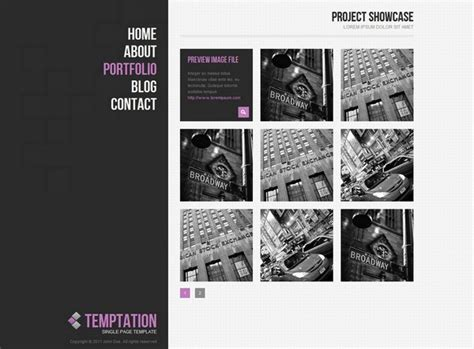 24 Free And Premium Portfolio Website Templates Ginva Architecture Portfolio Template