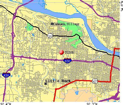 Little Rock Zip Code Map by 72205 Zip Code Little Rock Arkansas Profile Homes