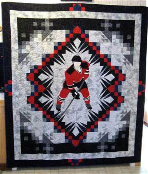 Hockey Quilt Patterns by Pin By Gervais On Quilting