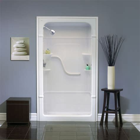 Acrylic Shower Units Mirolin 48 Inch 3 Acrylic Shower Stall The