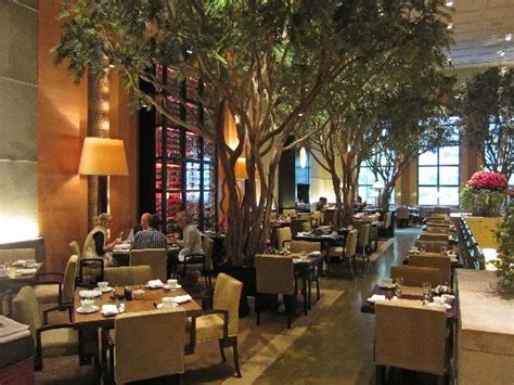 Restaurants With Gardens Nyc by The Garden Restaurant In The Lobby Area Picture Of Four
