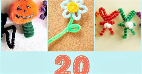 pipe cleaner crafts 20 pipe cleaner crafts crafting in the