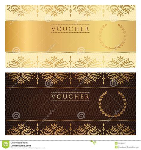 floral design certificate edmonton gift voucher cartoon vector cartoondealer com 92942689