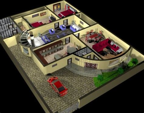 3d interior design free freebies 3d free house plan interior free