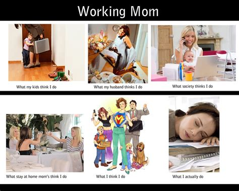 Working Mom Meme - a letter to working moms gratitude pinterest