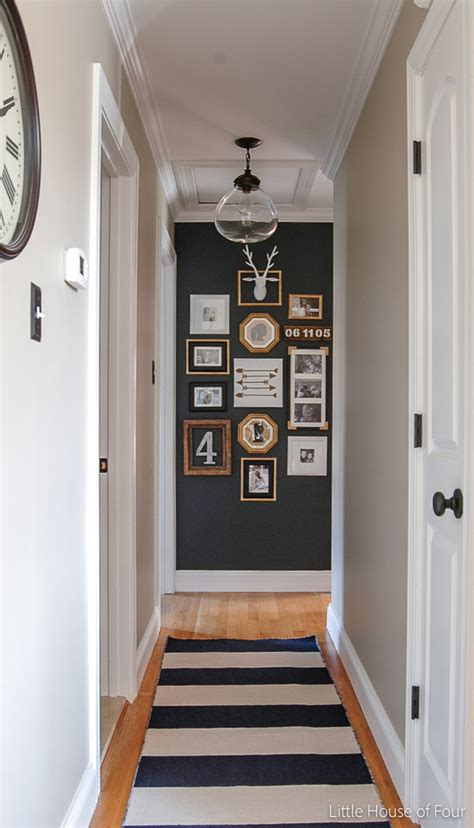 ideas on hanging pictures in hallway 9 narrow hallway design ideas for your small apartment dipfeed