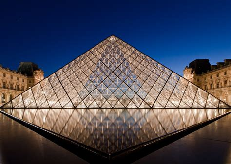 Home Design Architect by Le Grand Louvre I M Pei Paris France Mimoa