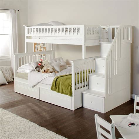 bunk bed with stairs bunk bed with stairs