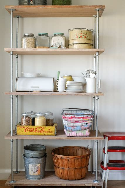 industrial shelving diy industrial kitchen columbus