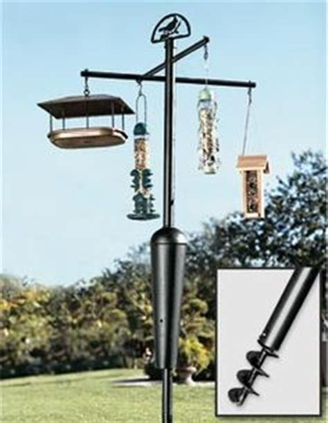 bird feeder pole squirrel proof woodworking projects plans